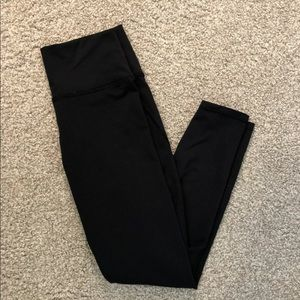 Fabletics Powerhold Black High Waist Crop Leggings